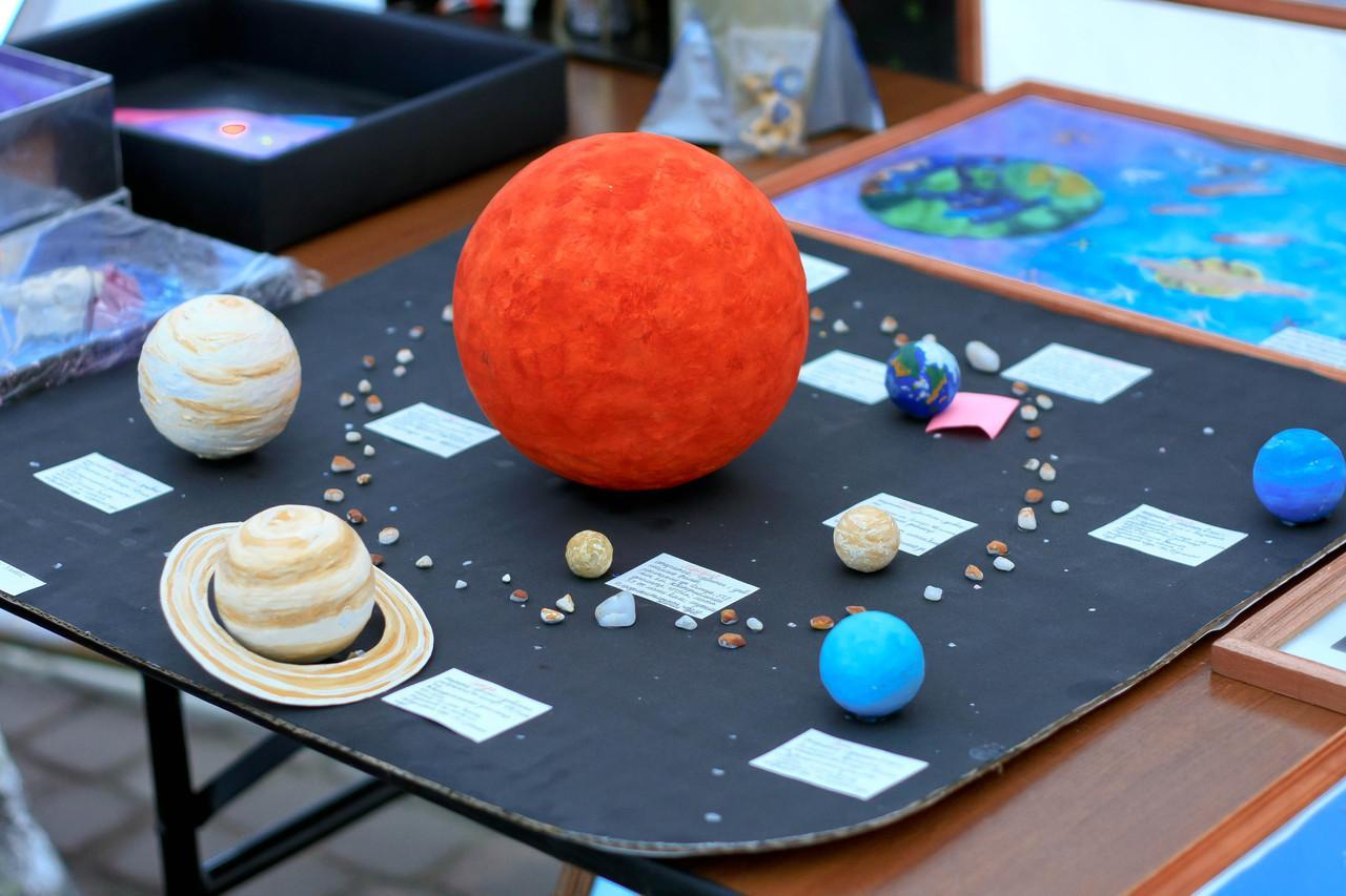 Солнечная система своими руками поделка фото 602
