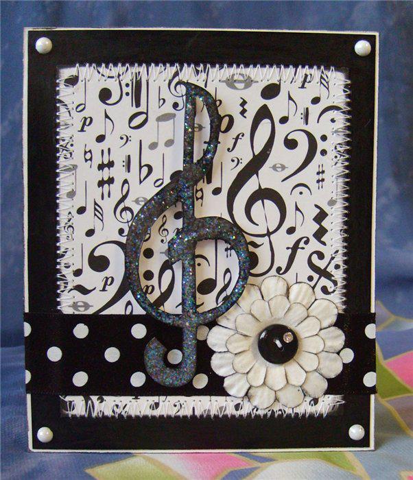 как делают открытки с музыкой